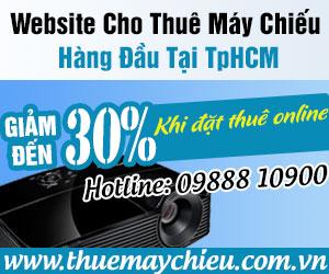 Mách nhỏ website cho thuê máy chiếu giá rẻ tại TpHCM