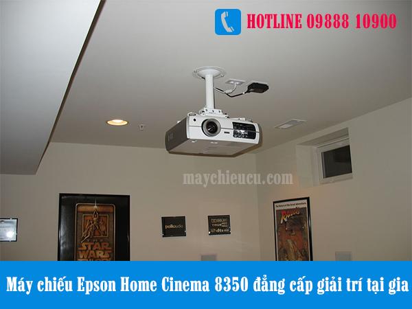 Máy chiếu Epson Home Cinema 8350 đẳng cấp giải trí tại gia