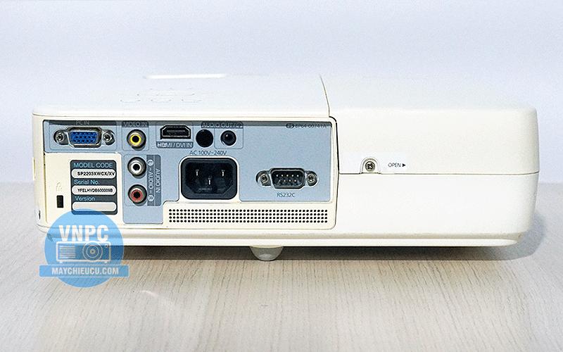 Máy chiếu cũ Samsung SP-M221 giá tốt có HDMI công nghệ Nhật
