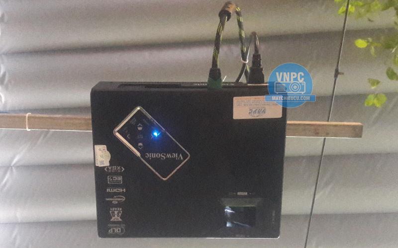 Lắp đặt máy chiếu cũ Viewsonic PJD6553 cho quán cafe XALA