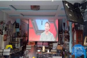 Di dời vị trí lắp đặt bộ máy chiếu Optoma HD26 quán Cafe