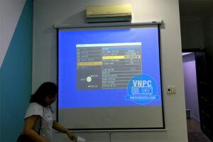 Lắp Máy Chiếu Panasonic PT-LB90 Cũ Cho Văn Phòng Công Ty