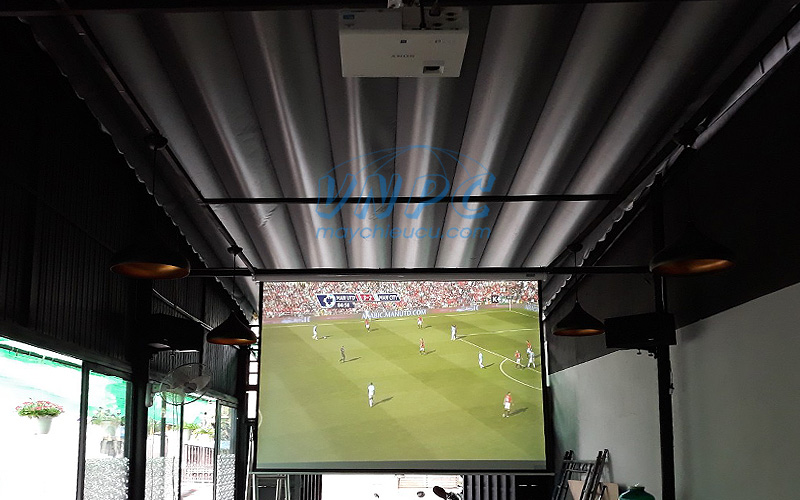 VNPC chuyên cung cấp & lắp đặt máy chiếu bóng đá quán cafe trên toàn quốc