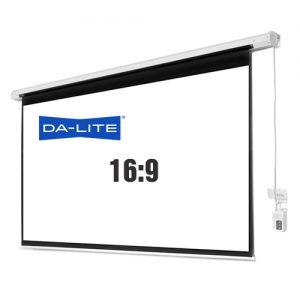 Màn chiếu điện 135 inch 16:9 cũ chuyên xem phim HD 3D