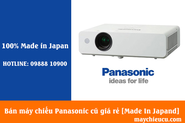 Bán máy chiếu Panasonic cũ giá rẻ [Made In Japand]