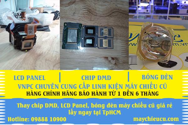 Bán Chip DMD cũ và LCD máy chiếu cũ, bóng đèn chiếu cũ