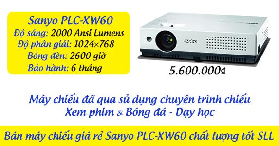 Bán máy chiếu giá rẻ Sanyo PLC-XW60 chất lượng tốt SLL