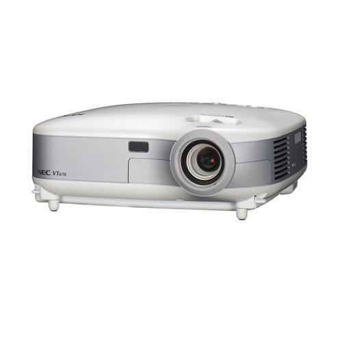 Máy chiếu cũ NEC VT495 Máy chiếu đa năng độ phân giải HD
