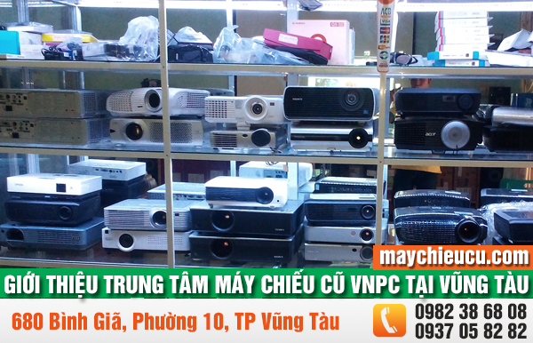 Giới thiệu Trung tâm máy chiếu cũ VNPC tại Vũng Tàu