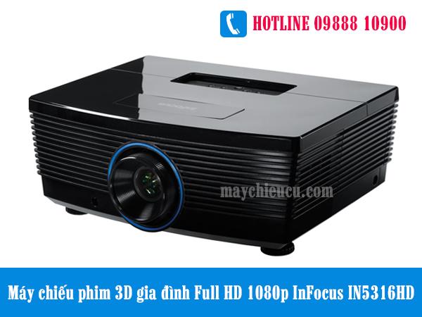 Máy chiếu phim 3D gia đình Full HD 1080p InFocus IN5316HD