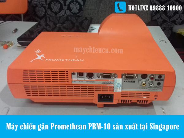 Máy chiếu gần Promethean PRM-10 sản xuất tại Singapore