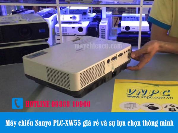 Máy chiếu Sanyo PLC-XW55 giá rẻ và sự lựa chọn thông minh