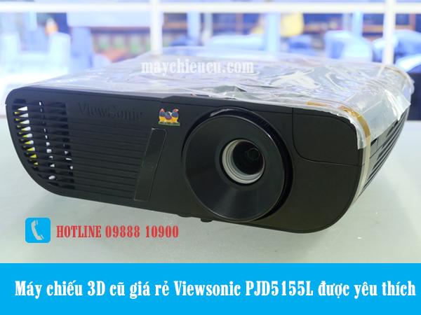 Máy chiếu 3D cũ giá rẻ Viewsonic PJD5155L được yêu thích