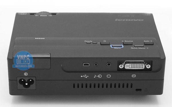 Máy chiếu cũ Lenovo M500 nhỏ gọn dễ dàng bỏ túi mang đi