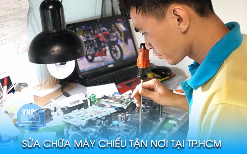 Sửa chữa máy chiếu tận nơi tại TpHCM