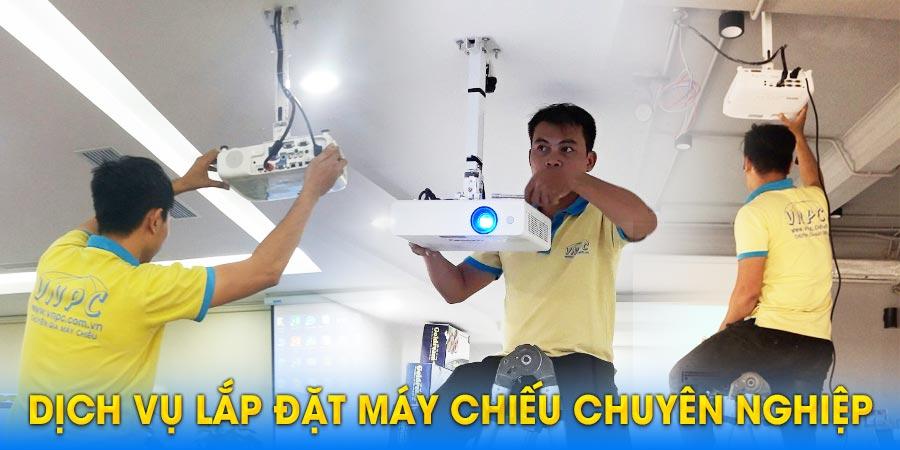 Dịch vụ lắp đặt máy chiếu chuyên nghiệp uy tín nhất tại TpHCM & Hà Nội
