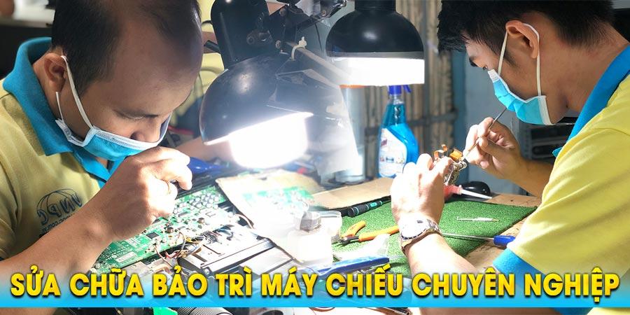 Dịch vụ sửa chữa máy chiếu uy tín giá rẻ nhất tại TpHCM & Hà Nội