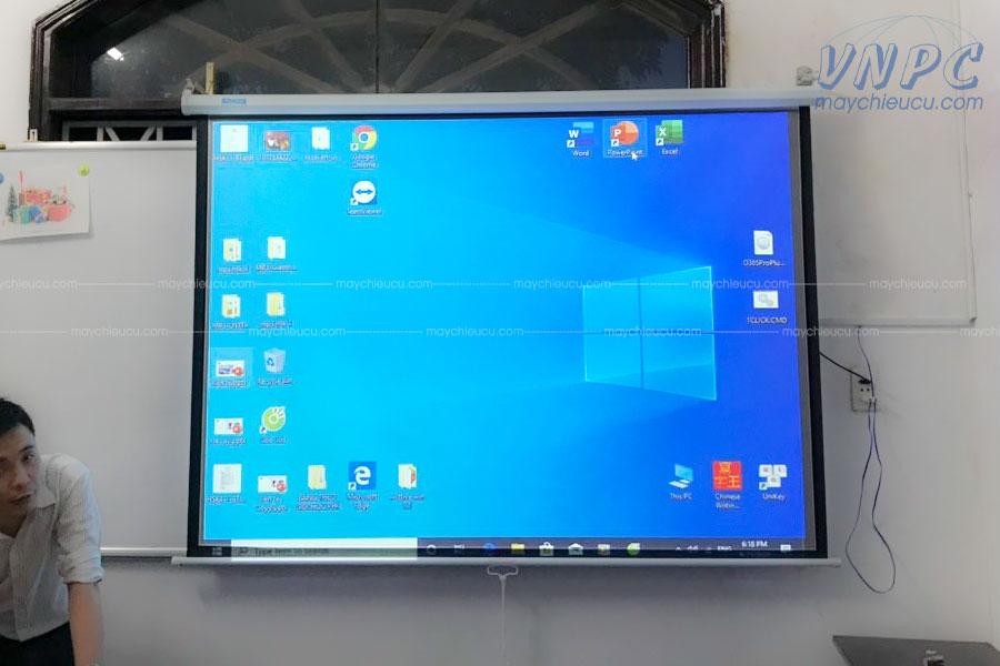 VNPC thi công lắp đặt máy chiếu Hitachi CP-RX79