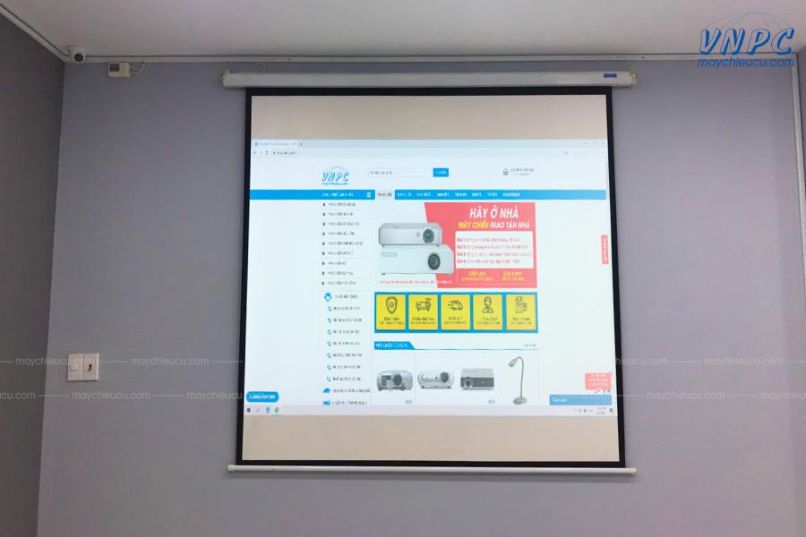 lắp đặt máy chiếu Sony VPL-DX100 tại Spa HANA