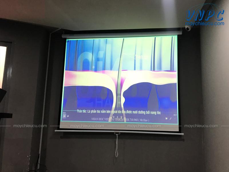 VNPC lắp máy chiếu Sony VPL-EX230 cũ tại văn phòng Salon Kiến Hào