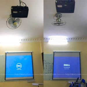 Lắp đặt 2 bộ máy chiếu Dell 1210S tại WElearn